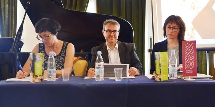 Alenka Ogrin, Alan Vella in Monia D'Amico
